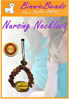 NEW - Binnie Beads Nursing Necklace - SPECIAL
