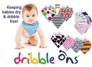 Dribble-On Bandana Bib