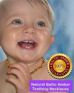 Binnie Beads Teething Amber