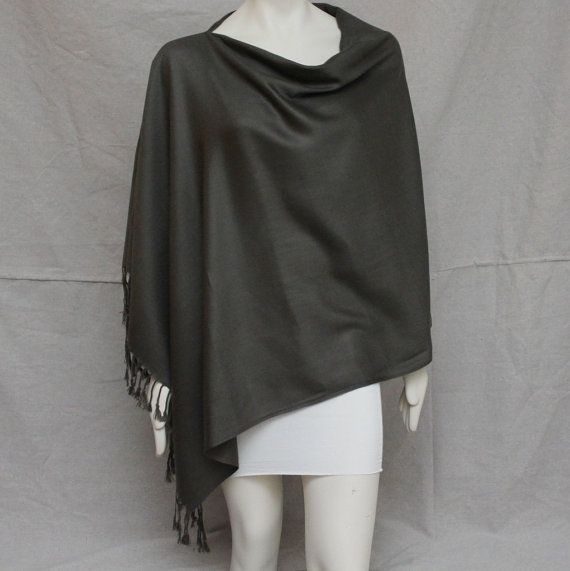 Binnie Nursing Pashmina - Black