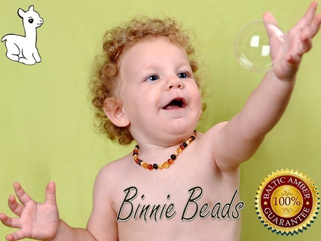 Binnie Beads Amber Teething NECKLACES