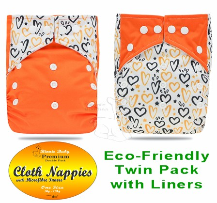 Binnie Premium Eco Friendly Nappy - FEB SPECIAL 20% off!
